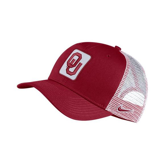 sports shoes 26a74 ee4b1 Nike Oklahoma Sooners Classic 99 Trucker Hat - Main Container Image 1