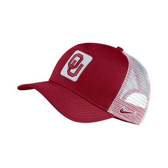 3f5ff9a69efdb4 Nike Oklahoma Sooners Classic 99 Trucker Hat - Hibbett US
