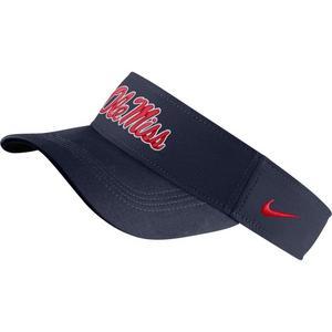 outlet store f2861 92e9d Nike Ole Miss Rebels Dri-FIT Visor