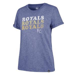 5addde4f005b Sale Price 35.00. No rating value  (0).  47 Women s Kansas City Royals Trio  Match Tri-Blend T-Shirt