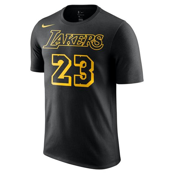 e2655b90c14 Nike Men's Lebron James Los Angeles Lakers City Edition Name & Number Tee -  Main Container