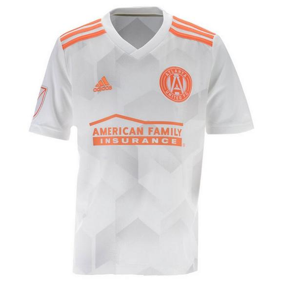 low priced acf56 6a51e adidas Youth Atlanta United FC Secondary Jersey