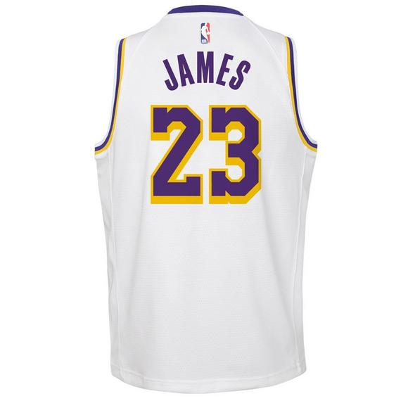 620f4897d Nike Youth L. James Los Angeles Lakers Associate Swingman Jersey - Main  Container Image 2