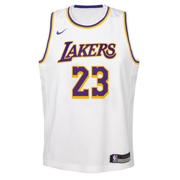 new arrival 299cb cd178 Nike Youth L. James Los Angeles Lakers Associate Swingman ...