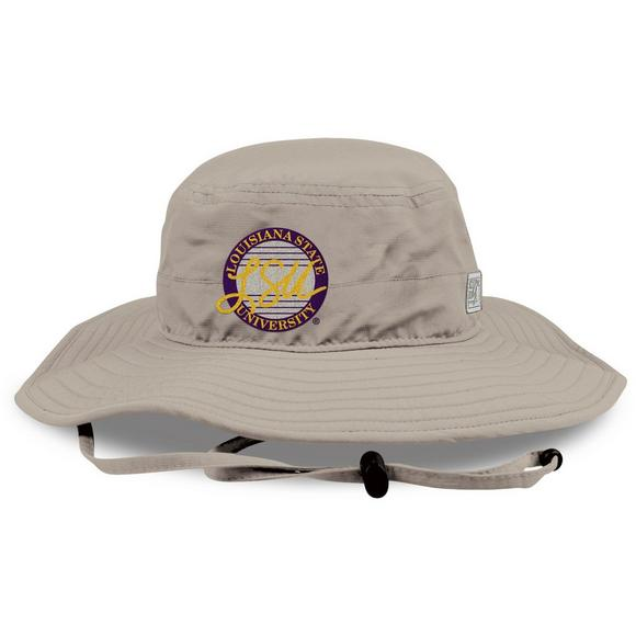 8e8fc40459aff MV Sport LSU Tigers Ultralight Boonie Bucket Hat - Main Container Image 1