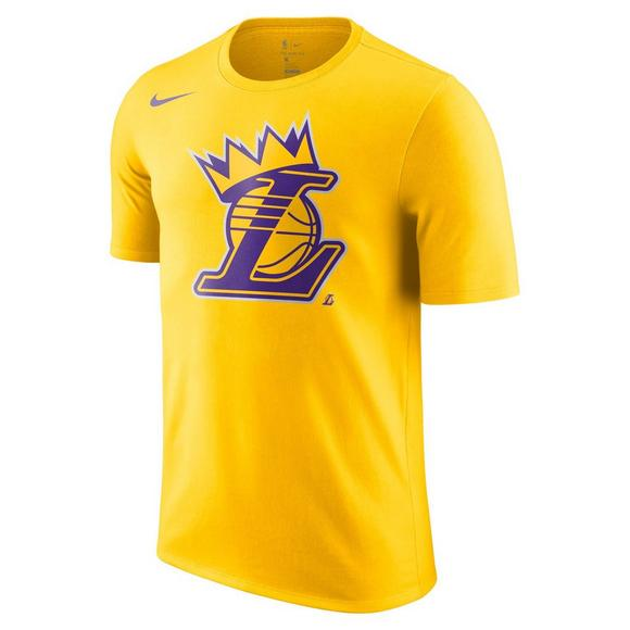 e5bcb6ce69ea Nike Men s Los Angeles Lakers Crown Short Sleeve Tee - Main Container Image  1