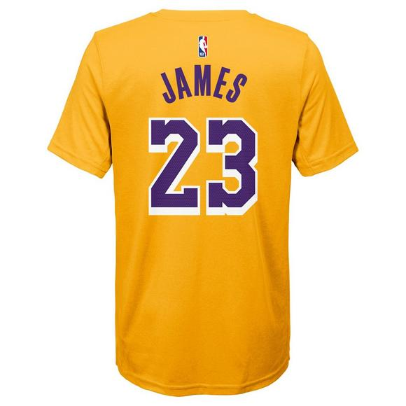 cb418b4126c Nike Youth Lebron James Los Angeles Lakers City Edition Name & Number Tee -  Main Container