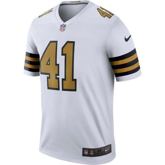 best service e79cd a65e8 Nike Men's A. Kamara New Orleans Saints Legend Football Jersey