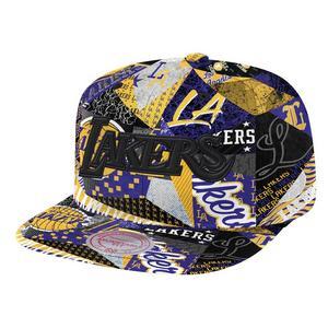 size 40 e815a 43464 Free Shipping No Minimum. No rating value  (0). Mitchell   Ness Los Angles  Lakers Paysage Hardwood Classics Snapback