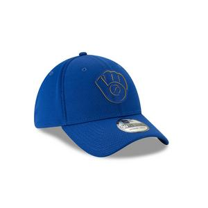 new arrival ef911 d1bff Free Shipping No Minimum. No rating value  (0). New Era Milwaukee Brewers  Clubhouse 39THIRTY Stretch-Fit Hat