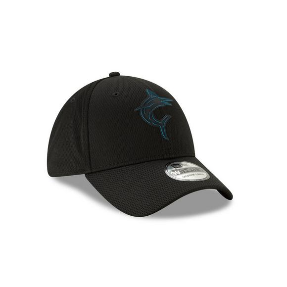 b1f0c811 New Era Miami Marlins Clubhouse 39THIRTY Stretch-Fit Hat - Main Container  Image 2