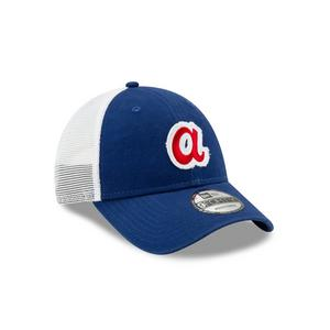 finest selection c3449 c1d36 4.7 out of 5 stars. Read reviews. (3). New Era Atlanta Braves Truckered  9FORTY Adjustable Hat