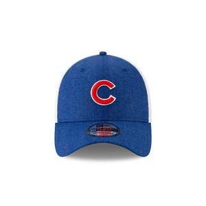 e7bb8d132dd New Era Chicago Cubs Heather Front Neo Stretch-Fit Hat