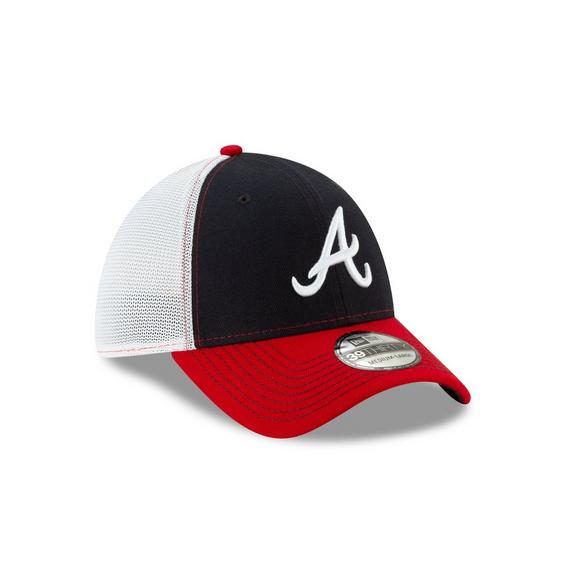 9409d05d85f5cd New Era Atlanta Braves Practice Piece 39THIRTY Stretch-Fit Hat - Main  Container Image 2