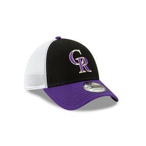 New Era Colorado Rockies Practice Piece 39THIRTY Stretch-Fit Hat 30e3e0743936