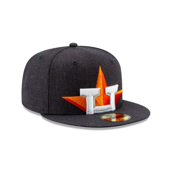 official photos c9d9a 74931 New Era Houston Astros Logo Flipped 59FIFTY Fitted Hat - Main Container  Image 2