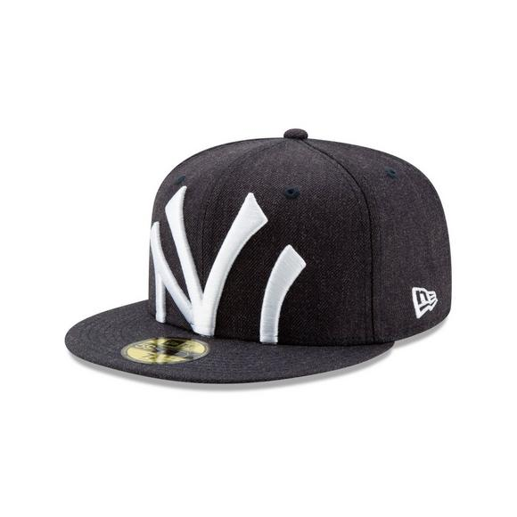 058e0ab8da716 New Era New York Yankees Logo Flipped 59FIFTY Fitted Hat - Main Container  Image 1