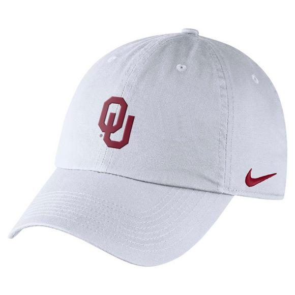 a52bd48f Nike Oklahoma Sooners Heritage86 Authentic Adjustable Hat - Main Container  Image 1