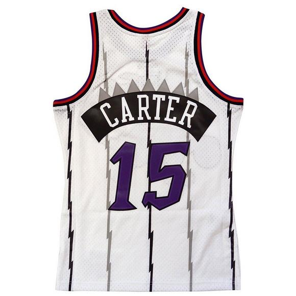 Mitchell   Ness Men s Toronto Raptors Vince Carter Hardwood Classics Away White  Swingman Jersey - Main 4653bcc59