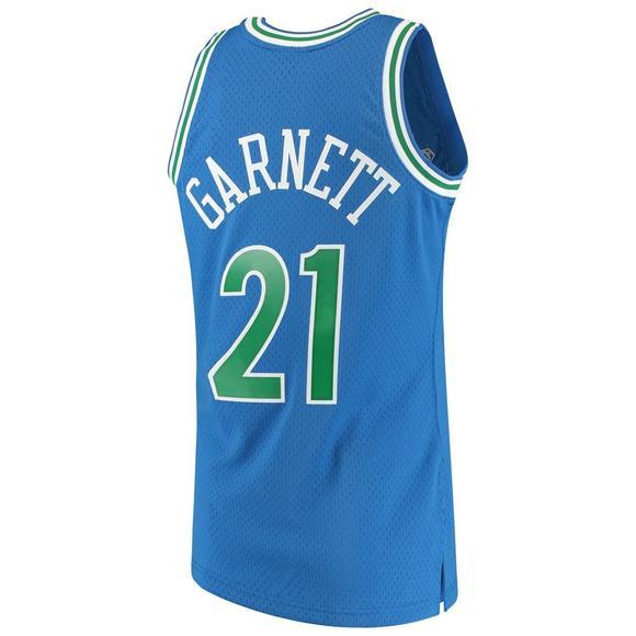finest selection 81a6d d9499 Mitchell & Ness Men's Kevin Garnett Minnesota Timberwolves ...