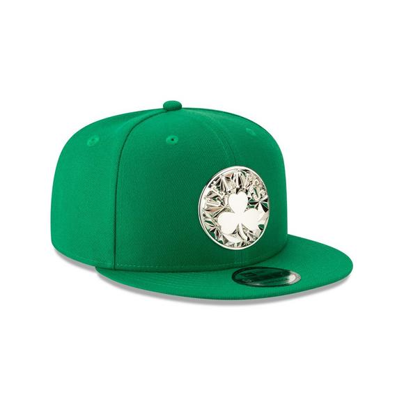 online store d0d46 86bb5 New Era Boston Celtics Fractured Metal 9Fifty Snapback Hat - Main Container  Image 2