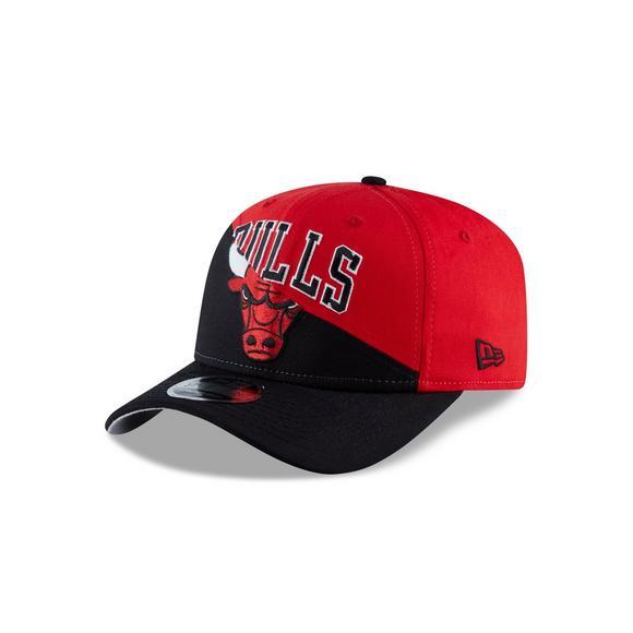 7bda4f54294 New Era Chicago Bulls Split Snap 9FIFTY Snapback Hat - Main Container Image  1