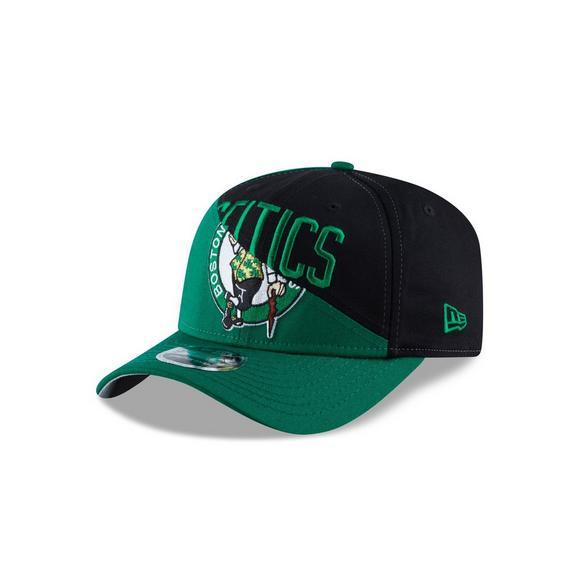 9f2f4982a56a83 New Era Boston Celtics Split Snap 9FIFTY Snapback Hat - Main Container  Image 1