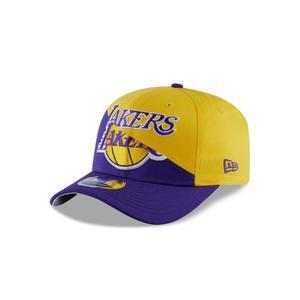 cee827ba962d81 New Era Los Angeles Lakers Split Snap 9FIFTY Snapback Hat ...