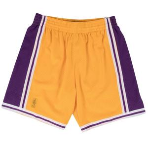 d15c1620e07 Sale Price 75.00. No rating value  (0). Mitchell   Ness Men s Los Angeles  Lakers Swingman Basketball Shorts