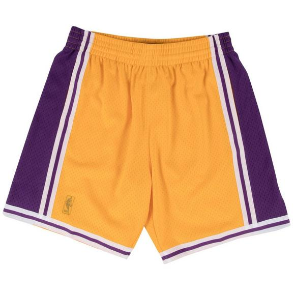 f27635df3895 Mitchell   Ness Men s Los Angeles Lakers Swingman Basketball Shorts - Main  Container ...