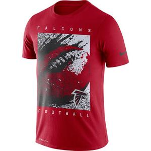 058b68fd05295 Nike Men's Atlanta Falcons Dri-FIT Cotton Mezzo Icon T-Shirt ...
