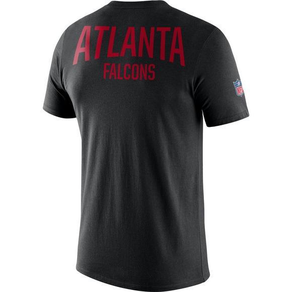 official photos a3cb6 c299f Nike Men's Atlanta Falcons Dri-FIT Facility T-Shirt