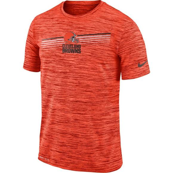 pretty nice fe6a5 ed34b Nike Men's Cleveland Browns Legend Velocity Sideline T-Shirt