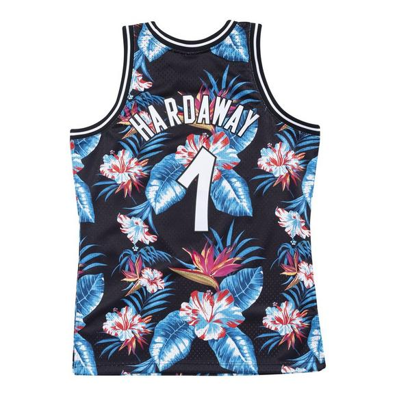 pretty nice ea358 674bf Mitchell & Ness Men's Orlando Magic Penny Hardaway Floral Swingman Jersey