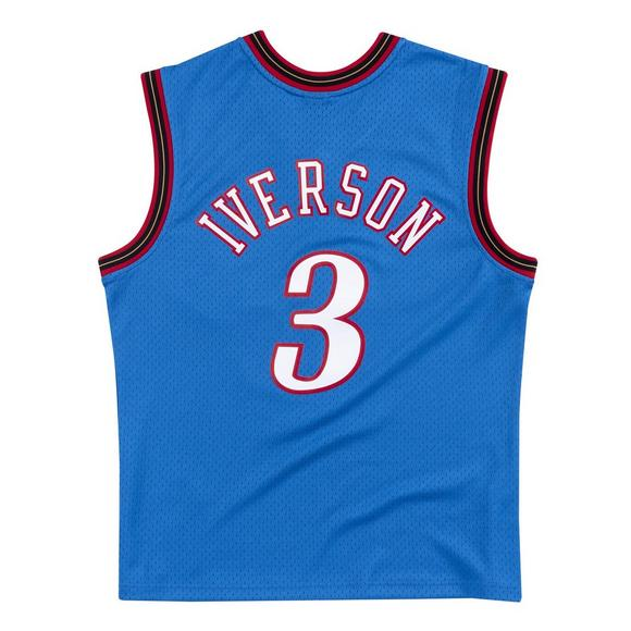 new concept d980c e3c6b Mitchell & Ness Men's Philadelphia 76ers Allen Iverson Swingman Jersey