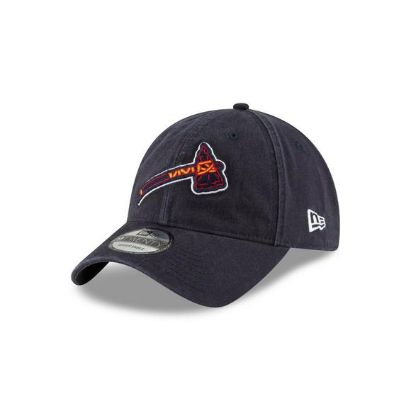 New Era Atlanta Braves 9TWENTY Navy Core Classic Adjustable Hat - Main  Container Image 1 b4beed81382