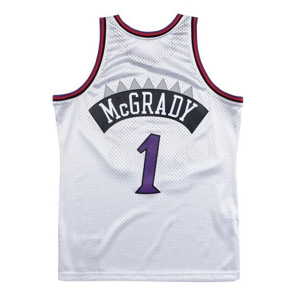 69333c94a Mitchell   Ness Men s Toronto Raptors Tracy McGrady Platinum Swingman Jersey  - Main Container ...