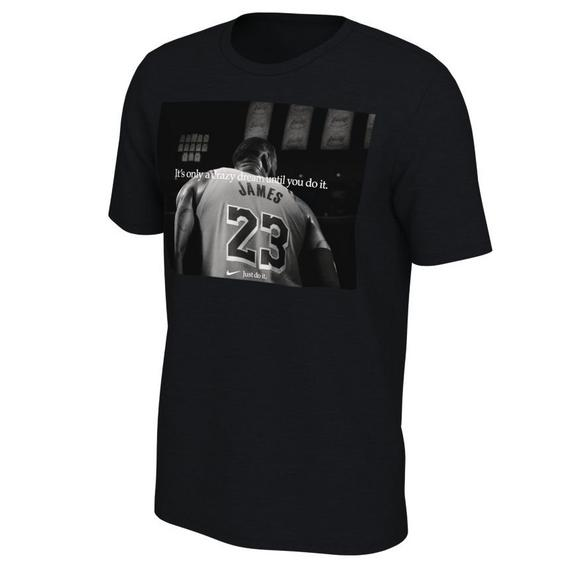 official photos f9526 b437e Nike Men s Los Angeles Lakers Opening Night Lebron James T-Shirt - Main  Container Image