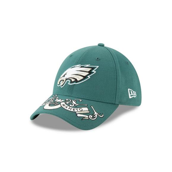 e55f2e233e44d5 New Era Philadelphia Eagles 39THIRTY NFL Draft On Stage Stretch-Fit Hat -  Main Container
