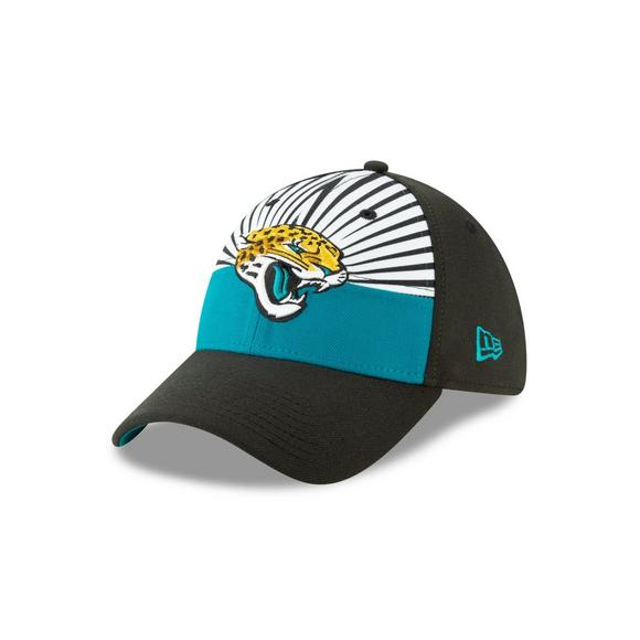 26212dca New Era Jacksonville Jaguars 39THIRTY NFL Draft On Stage Stretch-Fit Hat