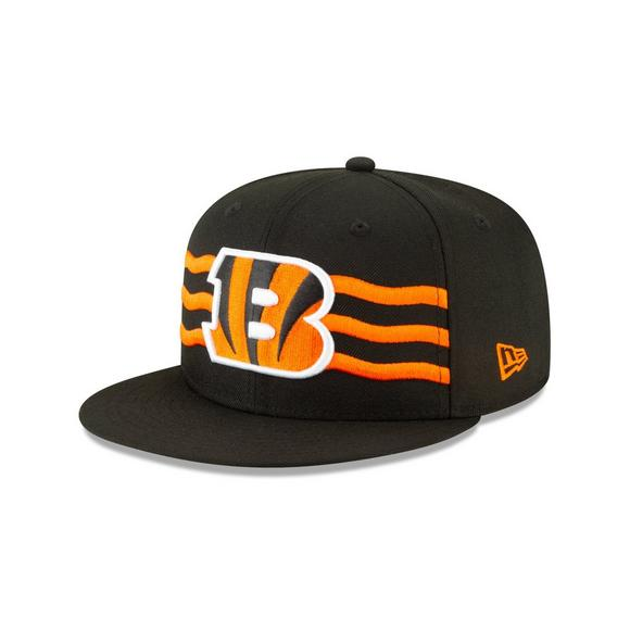 cheap for discount bd9fa 3a175 New Era Cincinnati Bengals 9FIFTY NFL Draft On Stage Snapback Hat - Main  Container Image 1