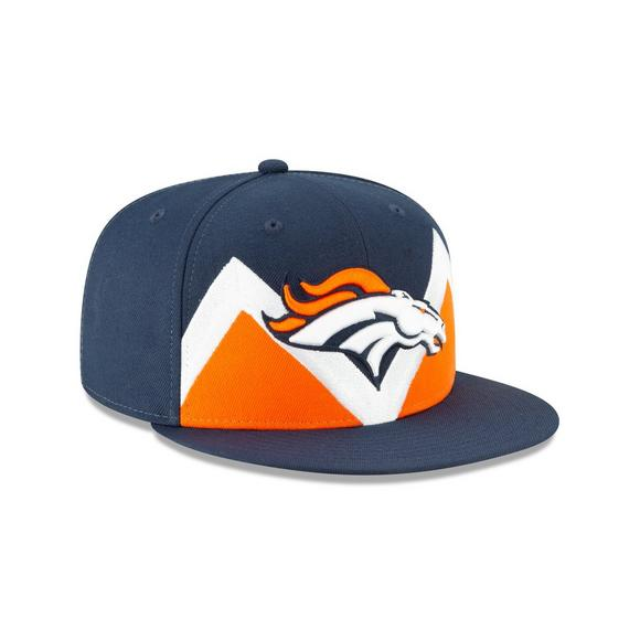 low priced 94424 b17f3 New Era Denver Broncos 9FIFTY NFL Draft On Stage Snapback Hat - Main  Container Image 2