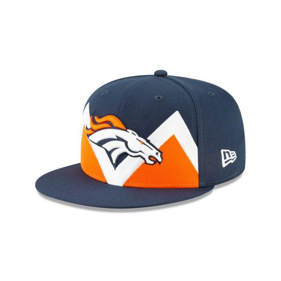 870a6a589e9 New Era Denver Broncos 9FIFTY NFL Draft On Stage Snapback Hat - Main  Container Image 1