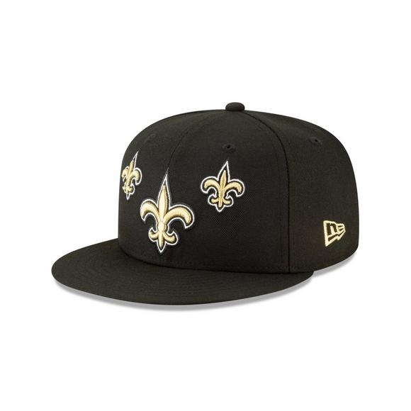 425a3b30 New Era New Orleans Saints 9FIFTY NFL Draft On Stage Snapback Hat