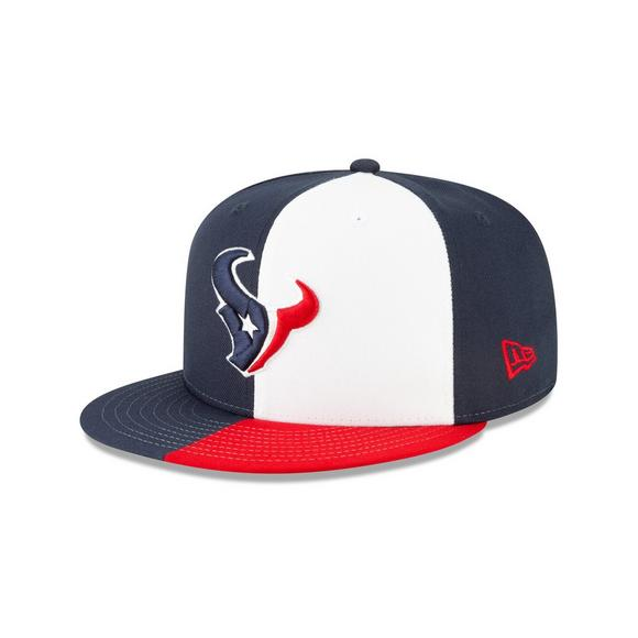 4c7e70d10e0 New Era Houston Texans 9FIFTY NFL Draft On Stage Snapback Hat - Main  Container Image 1