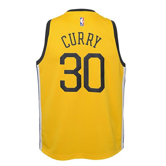 87282bad553c Nike Youth Golden State Warriors S. Curry Earned Edition Swingman Jersey -  Main Container Image
