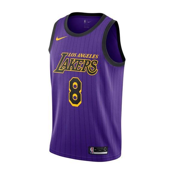 9e2ac0f3995 Nike Men s Kobe Bryant Los Angeles Lakers City Edition Swingman No.8 Jersey  - Main