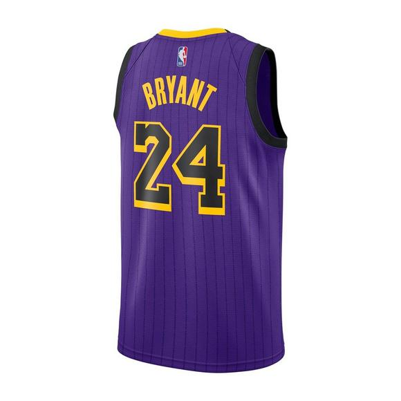 8c8e94a1751 Nike Men s Kobe Bryant Los Angeles Lakers City Edition Swingman No.24 Jersey  - Main