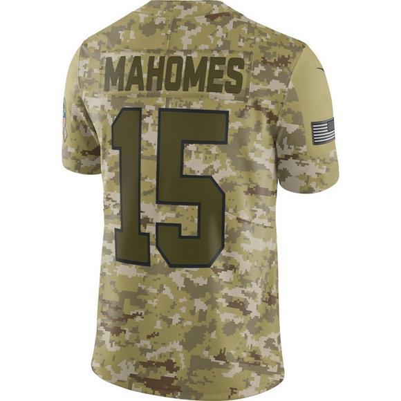 buy popular 1b2a6 a92b9 Nike Men's Kansas City Chiefs Patrick Mahomes II Salute to ...