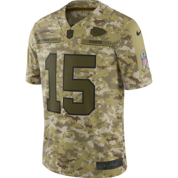 buy popular 176db 71a94 Nike Men's Kansas City Chiefs Patrick Mahomes II Salute to ...